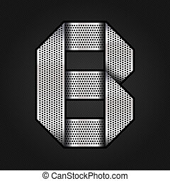 carta, metal, cromo, cinta, -, b