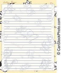 carta, pagina