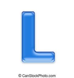 carta, -, plano de fondo, aislado, agua, blanco, l