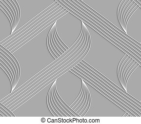 carta, strisce, forme, ritagliare