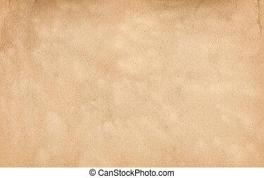 carta, texture., vecchio, naturale