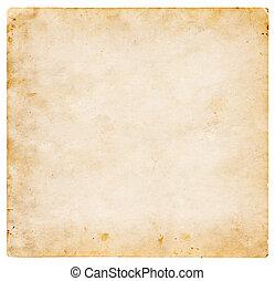 carta, vecchio, struttura