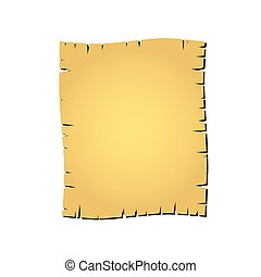 carta, vettore, vecchio, illustrazione