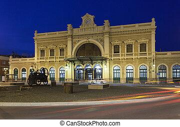 cartagena, estação, central, espanha