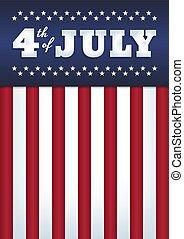 cartaz, 4 julho