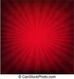cartaz, bokeh, vermelho, estouro