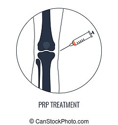 cartaz, celas, linear, tratamento, médico, joelho, caule