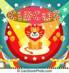 cartaz, circo