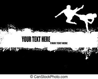 cartaz, kung fu