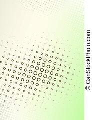 cartaz, marrom-verde, fundo