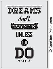 cartaz, motivational