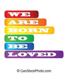 cartaz, orgulho, homossexual