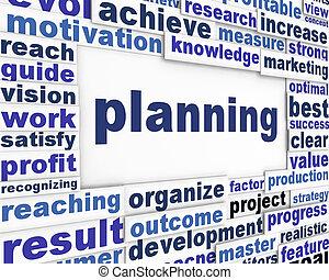 cartaz, planificação, desenho
