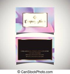 carte, 2405, conception, hologramme, business