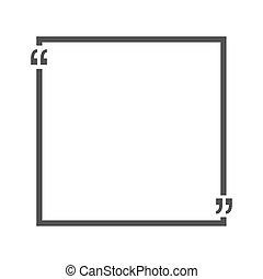 carte affaires, citation, vide, text., illustration, papier,...