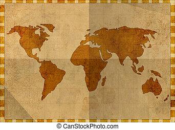 carte, ancien