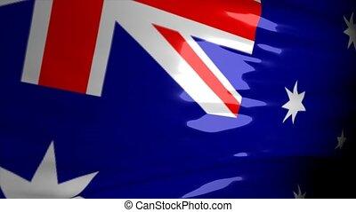 carte, australie, crise