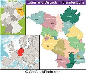 carte, brandenburg