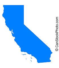 carte, californie