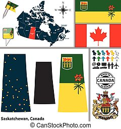 carte canada, saskatchewan