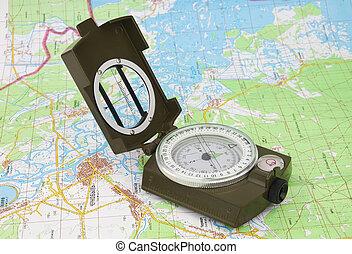 carte, compas, chernobyl