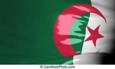carte, crise, algérie