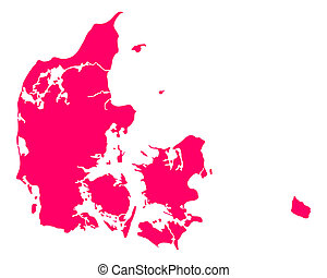 carte, danemark