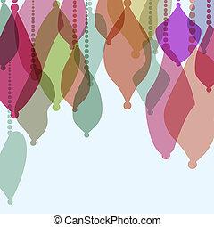 carte, +, decorations., eps8, noël