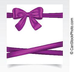 carte don, ruban