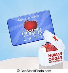 carte donateur