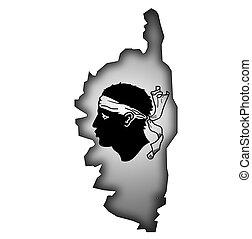 Carte Corse Noir Et Blanc.Images Et Illustrations De Carte Corse 504 Illustrations De