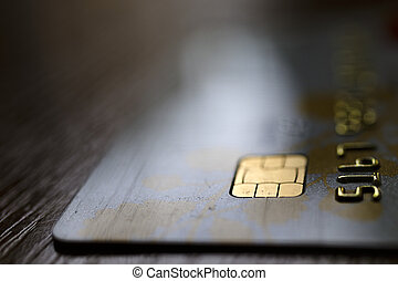 carte, fond, crédit
