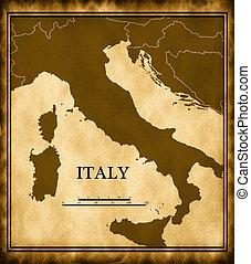 carte, italie