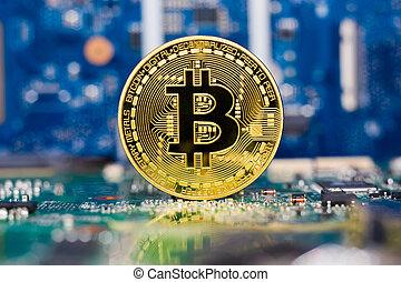 carte mère, bitcoin