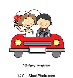carte, mariage