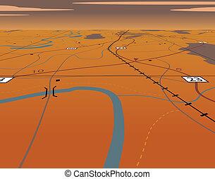 carte, perspective