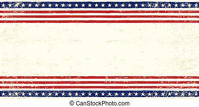 carte postale, américain