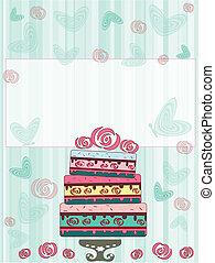 carte postale, anniversaire