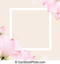 carte postale, pastel, fleurs