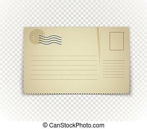Texte, arrière-plan., papier, agenda, gabarit, transparent.