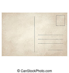 carte postale, vendange, vieux