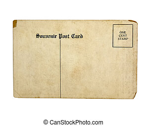 carte postale, vieux