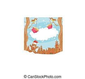 gnome maison arbre conte f e no l arbre gnome illustration de stock rechercher des. Black Bedroom Furniture Sets. Home Design Ideas