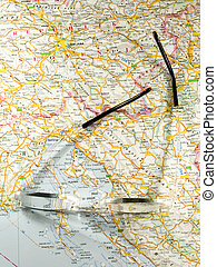 carte, route