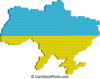 carte, ukraine