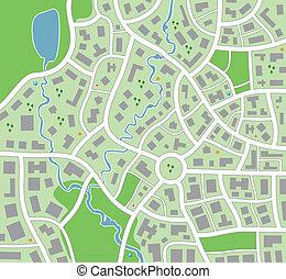 carte ville