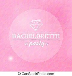 cartel, bachelorette, cita, inspirador, typographical,...