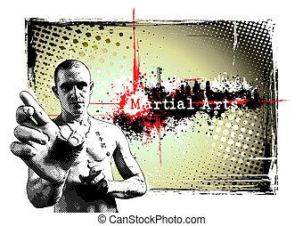 cartel, luchador