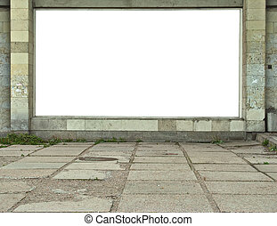 cartelera, wall-mounted