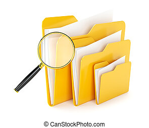 cartella, file, ricerca